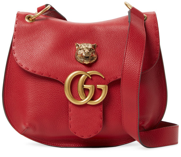 GG Marmont Leather Shoulder Bag by Gucci Clothing & Accessories