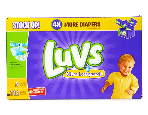 Luvs 112 Diapers - Size 5