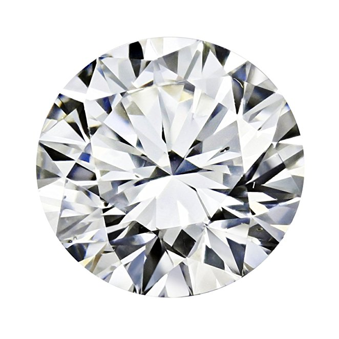 GIA Certified Round Natural Loose Diamond ( Carat: 0.3, Color: H, Clarity: SI2 ): Jewelry