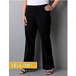 Four Pairs of Women's Pants: Classic Leg Career Pants or Classic Trousers