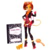 $19.99 Mattel Monster High Toralei Stripe Doll with Pet Sweet Fang W9117
