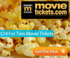 Two Movie Tickets from MovieTickets.com