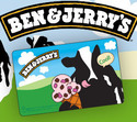 $5$10 Ben & Jerry's Gift Card