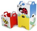 Gis Stacking Toy Bins 3-Pack
