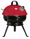 Portable Covered Charcoal Grill