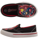 Avengers Toddler Boys' Slip-On Twin Gore Shoes