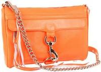136.50Rebecca Minkoff Mini Mac Clutch Neo Orange