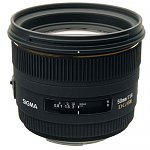 Sigma 50mm F1.4 EX DG HSM Lens for Canon or Nikon
