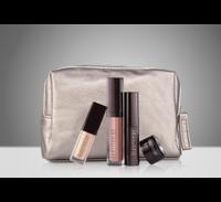 Free gift5 piece Eyes & Lips Gift, featuring some of Laura's favorite eye & lip makeup must-haves, with your purchase of $75 or more