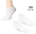 30 Pairs of Men's or Women's No-Show Socks