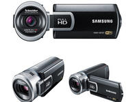 $207.76Samsung HMX-QF20 black HD 20X ZOOM FLASH CAMCORDER