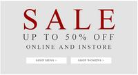 Up To 50% OffShop Online and Instore @ AllSaints