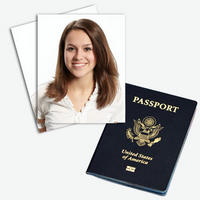 $5$5 for 2 Passport Pictures of 1 Person from Passportica With Free Shipping at Saveology