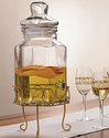 Brylane Home Drink Dispenser with Stand
