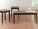 Brylane Home Wood Accent 3-Piece Table Set