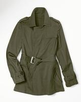 Coldwater Creek: Belted Trench Jacket (2 Colors)