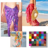 Assorted Sarongs: 5-Pack (shipped free)