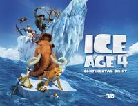 In Theatre Now!Ice Age 4: Continental Drift 3D