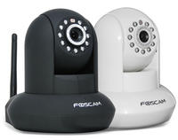 Foscam Pan/Tilt Wireless IP Camera w/ 26' Infrared Night Vision, Smartphone Remote Viewing & Motion Detection!