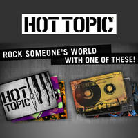 $5Gift Card to Hot Topic at Saveology