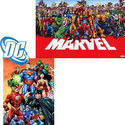 Marvel and DC Superhero Graphic Novel 10-Pack