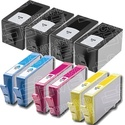 HP 920XL-Compatible Ink Cartridge 10-Pack