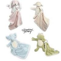 26.99Stephan Baby Puppet, Rattle and Blanket Set: 4-Pack