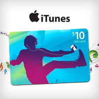 $5For A $10 iTunes Gift Card