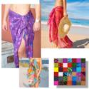 $9.99Assorted Beach Sarong 5-Pack