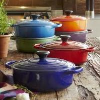 $149.95 Le Creuset® Flame Round Wide French Oven, 3½ qt.