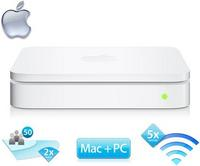 $99.99Apple AirPort Extreme Dual-Band Wireless-N Base Station Router with USB Port --  Factory Recertified