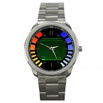 FREE + $5.99 shippingMen's James Bond 007 Goldeneye Replica (or Custom Image) Sport Metal Watch
