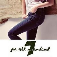 Extra 25% OFF7 For All Mankind: 特价商品额外25% OFF+免运费