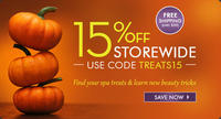 15% OFFStorewide at SpaLook