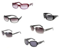 6 Pairs of Women's Premium Name Brand Sunglasses
