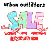 20% to 85% off sale items + extra 10% off Urban Outfitters Holideals Sale