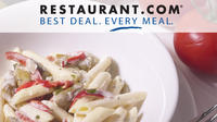 60% off gift certificates@ Restaurant.com