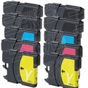 $9Brother LC-61 Compatible Ink Cartridge 10-Pack