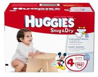 $1.50 OffHuggies Printable Coupon + $2 off Huggies Little Movers Slip on Diapers Coupon