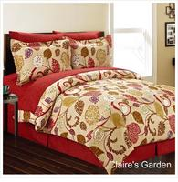 Manhattan Lights 8-Piece Bed in a Bag with Reversible Comforter & Sheet Set - 18 Pattern Options!