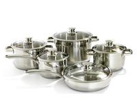 Gourmet Chef Stainless Steel 10-Piece Set