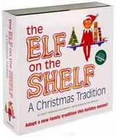 The Elf on the Shelf Hardcover Book w/ doll