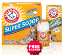 $6.50Arm & Hammer New Year Special Kitty Litter Bundle