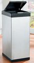Brylane Home Stainless Steel 40-Liter Trash Can