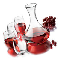 Libbey 5-Piece Stemless Wine Set