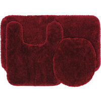 Mainstays 3-Piece Bath Rug Set (12 Colors)