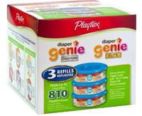 $15.19 Playtex Diaper Genie Refill 270-Count 3-Pack