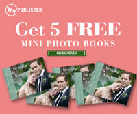 5 FREE mini photo booksat MyPublisher.com