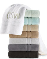 Free Monogramming for selected towels @ Neiman Marcus