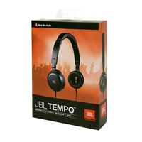 JBL Tempo High-Performance On-Ear Headphones (Black)